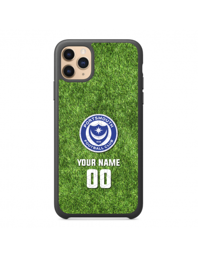 Portsmouth FC Grass + Name...